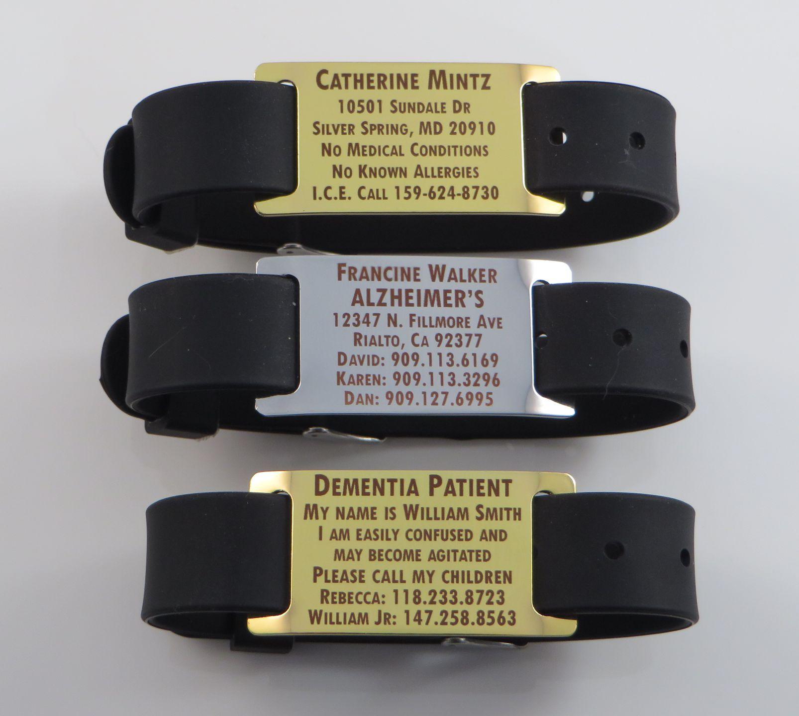Bracelet Identification Alzheimer