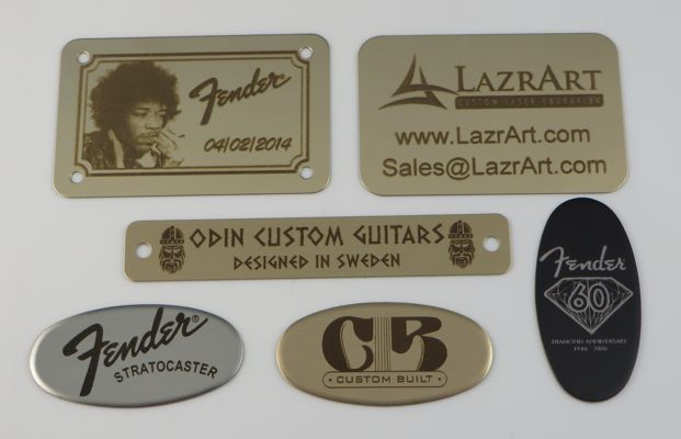 Badges, Plates & Stickers