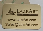 Adhesive Backed Brass Plate 2.75 x 1.625