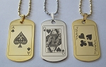 Playing Card Pendant