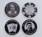 Photo Poker Chip 2-sided