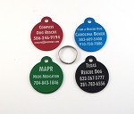 Lot of 50 Pet Rescue Tags - Not For Profit