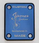 Custom Blue Photo Plate