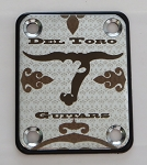 Custom Chrome Neck Plate