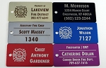 Firefighter / EMT Equipment Tag