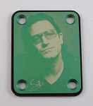 Custom Green Photo Plate