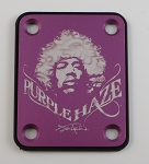 Custom Purple Photo Plate