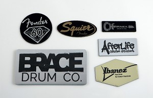 Custom Engraved Stickers