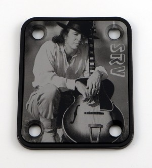 Custom Black Photo Plate